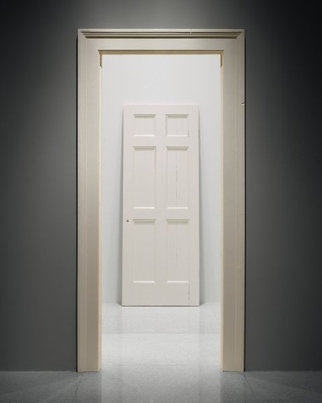 Surprising Untitled Door And Door Frame Art On Call Walker Art Center Largest Home Design Picture Inspirations Pitcheantrous