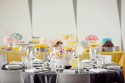 Wedding Reception in the Skyline Room