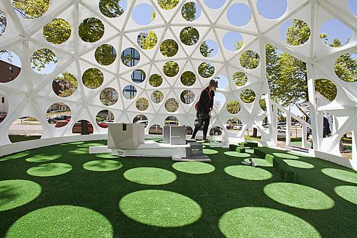 Walker on the Green: Artist-Designed Mini Golf, 2013