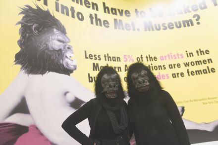 Art at the Center: Guerrilla Girls